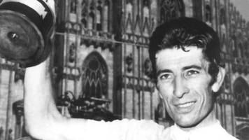 Rundfahrten-Sieger: Italienische Rad-Legende Felice Gimondi gestorben