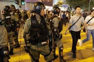 Peking droht Demonstranten in Hongkong mit Gewalt