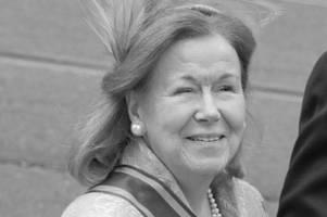 Prinzessin Christina ist tot: Schwester von Beatrix stirbt an Krebs