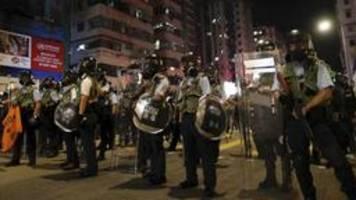 Chinas Staatszeitung droht Demonstranten in Hongkong