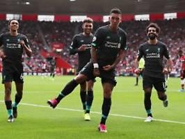 Cooler Sieg trotz Torwartpatzer: Klopps Liverpool übernimmt cool die Spitze