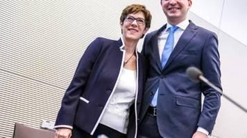CDU-Generalsekretär: Kramp-Karrenbauer fordert keinen Parteiausschluss von Maaßen
