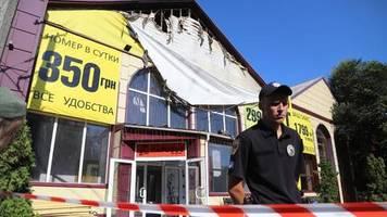 News von heute: Acht Tote nach Brand in Billig-Hotel in Odessa