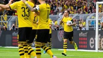 1. Spieltag: Dortmund Tabellenführer - Fortuna verdirbt Bremens Party