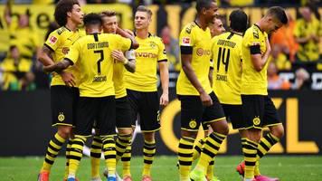 Fußball-Bundesliga: Gladbach und Schalke trennen sich torlos, BVB überrennt Augsburg