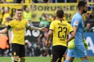 Fußball-Bundesliga: BVB mit Gala an die Spitze – Bremen von Düsseldorf düpiert