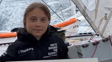 Greta Thunberg auf hoher See: Die Fahrt ist wie Camping auf der Achterbahn
