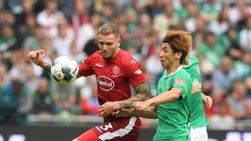 Fortuna Düsseldorf überrascht Rekord-Erstligist Bremen