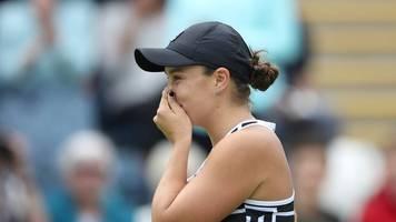 Nach Aus in Cincinnati - Tennis: Barty verpasst Chance auf Platz eins