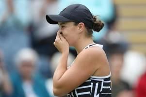 Tennis: Barty verpasst Chance auf Platz eins