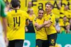 BVB-Party zum Saisonstart - Dortmund stürmt mit 5:1-Torgala gegen Augsburg an die Spitze