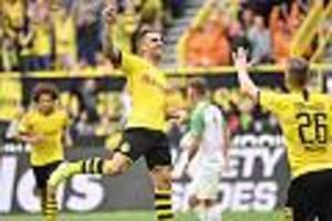 Dortmund erster Tabellenführer - BVB legt gegen Bayern vor - nur einer mahnt zur Vorsicht