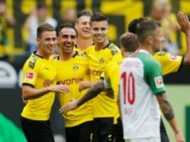 Dortmunds 5:1 gegen Augsburg: Mehr Mut in Dortmund