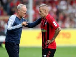 Freiburgs 3:0 gegen Mainz: Zufrieden am Rand