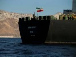 Grace 1: Gibraltar gibt beschlagnahmten Tanker frei
