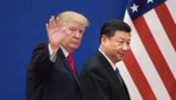 Proteste in Hongkong: Donald Trump warnt China vor Einsatz von Gewalt
