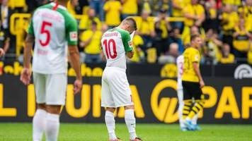 Bundesliga-Auftakt: Frühe Zweifel: Augsburg auf dem Weg zum Sorgenfall