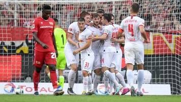 Sport kompakt: Union Berlin geht gegen Leipzig unter, Frankfurt schlägt Hoffenheim