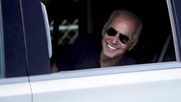 Unterwegs mit Joe Biden: Ein alter Mann als beste Hoffnung gegen Trump