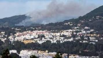 Verdacht auf Brandstiftung: Neuer Waldbrand auf Gran Canaria