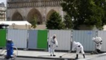 Paris: Sicherungsarbeiten an Notre-Dame wieder aufgenommen