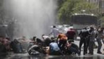 Proteste: Ausschreitungen bei Demonstrationen in der Türkei