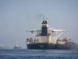 Deeskalation im Iran-Konflikt?: Tanker mit iranischem Öl verlässt Gibraltar