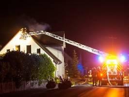 Einsatz in Gießen und Bielefeld: Feuer in zwei Flüchtlingsheimen