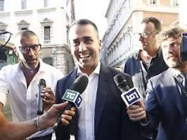 Neue Koalition in Italien?: Sterne-Bewegung flirtet mit Sozialdemokraten