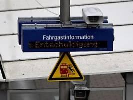 Pendler müssen geduldig sein: Gewitter sorgen weiterhin für Bahnchaos