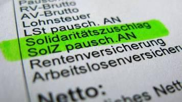 Kritik an Scholz-Äußerungen: Altmaier will weiter für komplette Soli-Abschaffung kämpfen