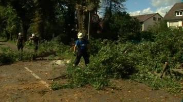 Video: Unwetter sorgt in Hessen für Verwüstungen