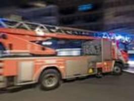 Polizei vermutet nach Brandstiftung