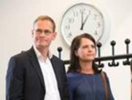 Michael Müller und seine Ehefrau trennen sich