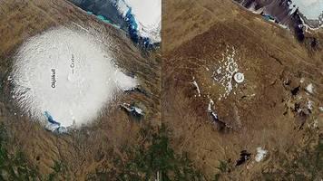Okjökull: Brief an die Zukunft: Island veranstaltet Trauerfeier für verstorbenen Gletscher