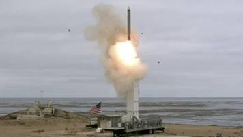 USA testen konventionelle Mittelstreckenrakete