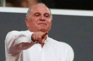 Fußball-Ticker: Bayern-Boss Uli Hoeneß erklärt erstmals seine Rückzugspläne