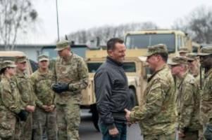 Soldaten: USA drohen mit Truppenabzug: Keine Army mehr in Deutschland?