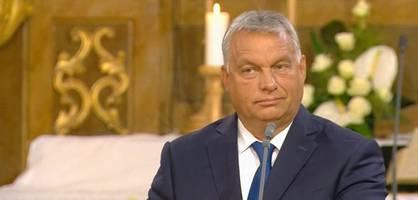 orbán und merkel erinnern an den fall des eisernen vorhangs