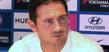 Das sagt Frank Lampard nach der Heim-Rückkehr