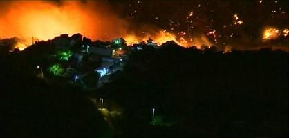 """""""Vier Prozent der Insel stehen in Brand"""""""