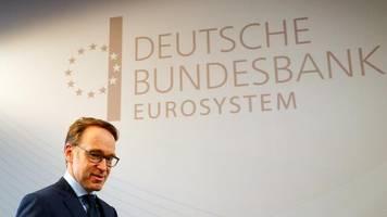 """Monatsbericht: Bundesbank schließt Rezession nicht aus – """"Konjunktur schwunglos"""""""