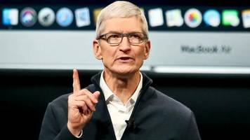 Sorge vor Konkurrenz: Apple-Chef Cook rät Donald Trump offenbar von China-Zöllen ab