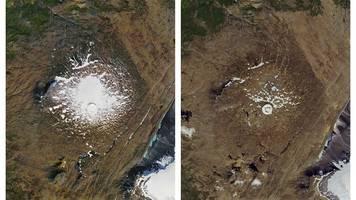 Opfer der Erderwärmung: Island erklärt offiziell ersten Gletscher für tot