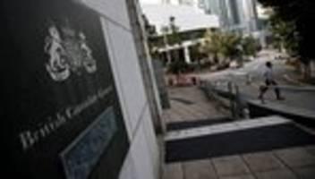 China: Mitarbeiter des britischen Außenministeriums in China vermisst