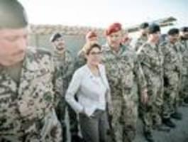 Heikles Terrain für die neue Verteidigungsministerin