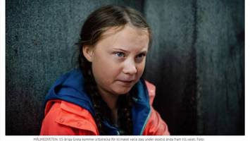 Fridays for Future : Ein Jahr Greta-Hype: So berichteten die Zeitungen am ersten Tag ihres Protests