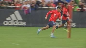 Video: Philippe Coutinho lernt seine neuen Kollegen kennen