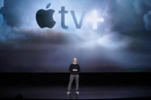 Apple TV+: Medien: Apple steckte Milliarden Dollar in Streaming-Inhalte