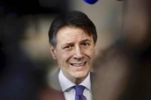 Conte gibt Erklärung ab: Wie geht es weiter mit Italiens Regierung?